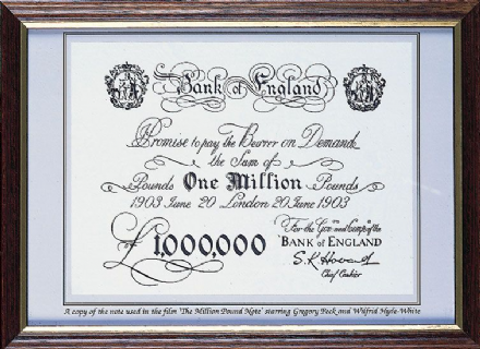 The Million Pound Note